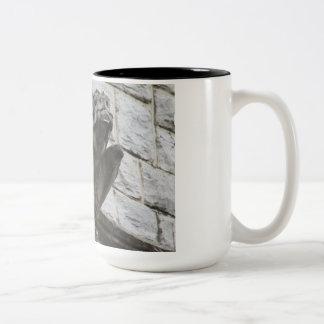 Gargoyle Design #3 Two-Tone Coffee Mug