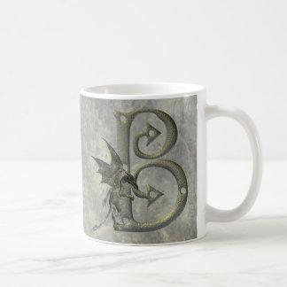 Gargoyle Monogram B Coffee Mug