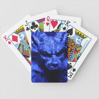 Gargoyle playing cards