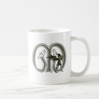 Gargoyles Monogram M Coffee Mug