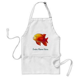 Garibaldi Fish Standard Apron