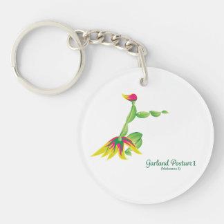 (Garland Posture I) Key chain