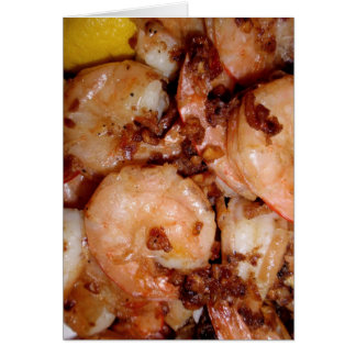 Garlic Shrimp Card