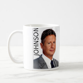 Gary Johnson For President Mug