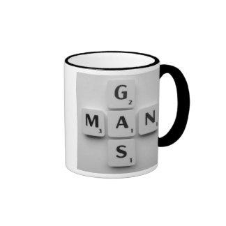 GAS MAN B/W Mug