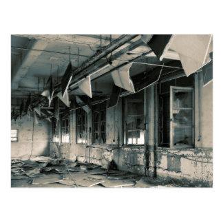 Gas Mask Factory Postcard