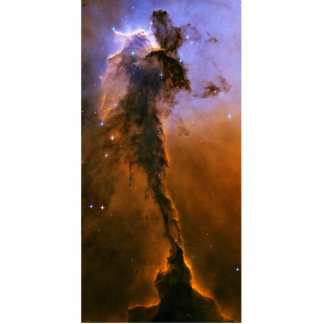 Gas Spire In The Eagle Nebula Standing Photo Sculpture