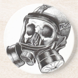GasMask Drink Coasters