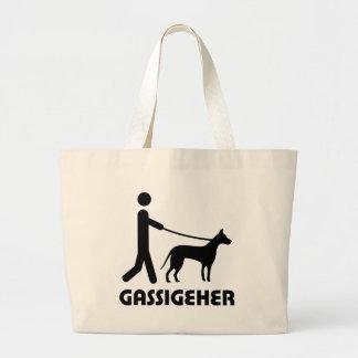 Gassigeher dog walker hund canvas bag