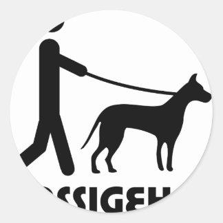 Gassigeher dog walker hund stickers