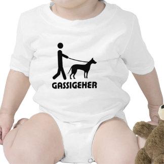 Gassigeher dog walker hund t shirts