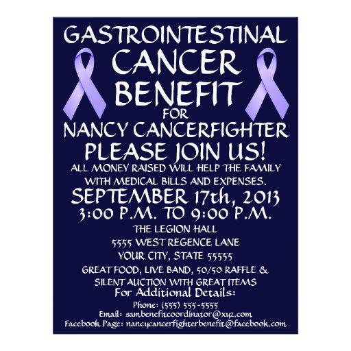 Gastrointestinal Cancer Ribbon Benefit Flyer