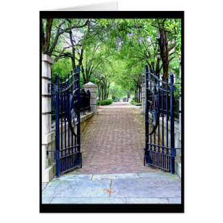 gate greeting card