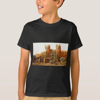 Gate of Shehal, Morocco by Edwin Lord Weeks T-Shirt