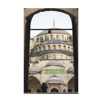 Gate to the Blue Mosque Canvas Print