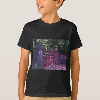 Gates to Strawberry Fields Liverpool T-shirts