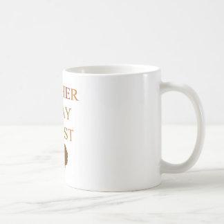 Gather Pray Feast Thanksgiving Basic White Mug