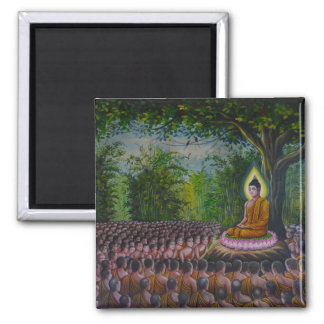 Gathering Of The Monks Magnet