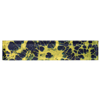 GATHERING STORM (an abstract art design) ~ Name Plate