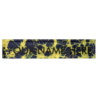 GATHERING STORM (an abstract art design) ~ Nameplate