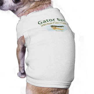 Gator Bait Dog T-shirt