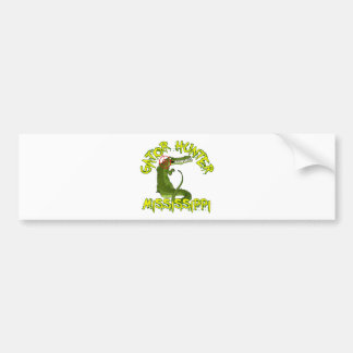 Gator Hunter Mississippi Bumper Sticker