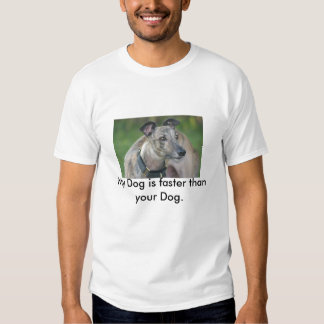 Gator, My Dog is faster than your Dog. T Shirts