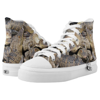 Gator Pile High Top Shoes