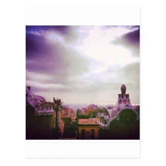Gaudi's Barcelona Postcard