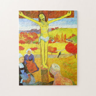 Gauguin Yellow Christ Puzzle