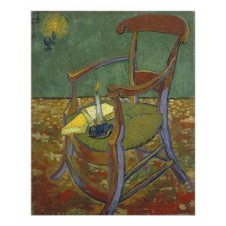 Gauguins Chair by Vincent Van Gogh Photograph