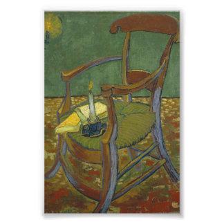 Gauguin's chair photo print