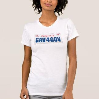 Gav 4 Gov License Plate T-Shirt