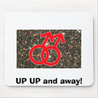 gay%20nation%20flag%20small, UP UP and away! Mouse Pad