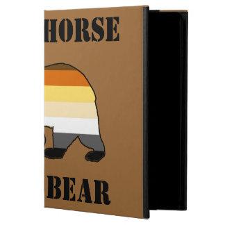 GAY BEAR BEAR PRIDE SAVE A HORSE RIDE A BEAR iPad AIR CASES