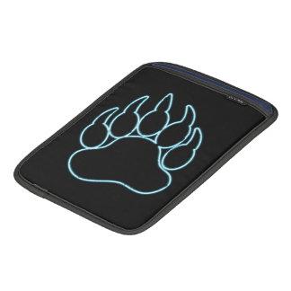 GAY BEAR PAW NEON BLUE iPad SLEEVES