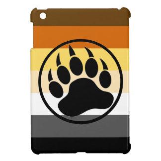 Gay Bear Pride Colors Bear Paw iPad Mini Case