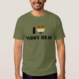 GAY BEAR PRIDE I HEART DADDY BEAR T-Shirt