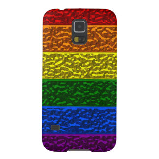 Gay Pride Chrome Flag Cases For Galaxy S5