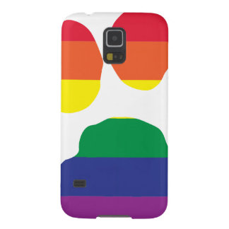 Gay Pride Paw Print Galaxy S5 Cover