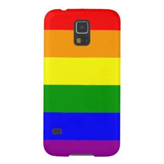 Gay Pride Rainbow Flag Galaxy S5 Case