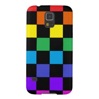 Gay Pride Rainbow Gifts - Rainbow Chessboard Galaxy S5 Cover