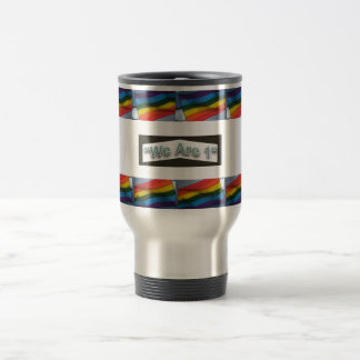 Gay Pride Travel Commuter Mug Be in style