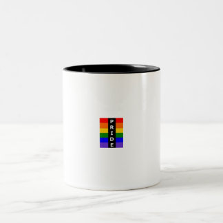 Gay Pride Two-Tone Coffee Mug