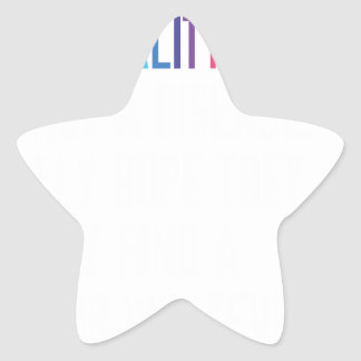 Gay Rights - Homosexuality is not a disease Star Sticker