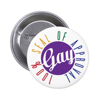 Gay Seal of Approval Button