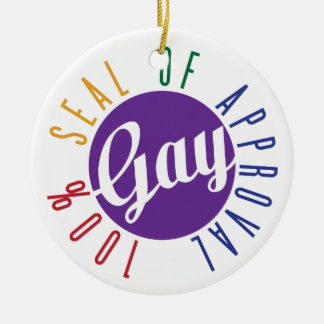 Gay Seal of Approval Ornament