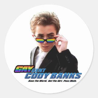 Gay Secret Agent (Gaygent) Sticker