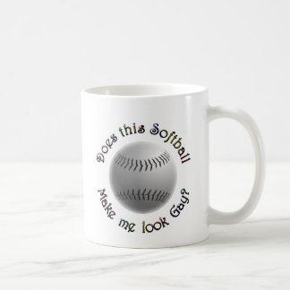 Gay Softball Coffee Mug