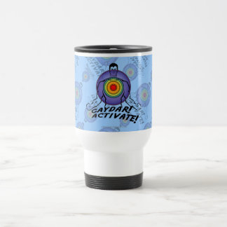 Gaydar! Activate! Rainbow Gay Coffee Mug
